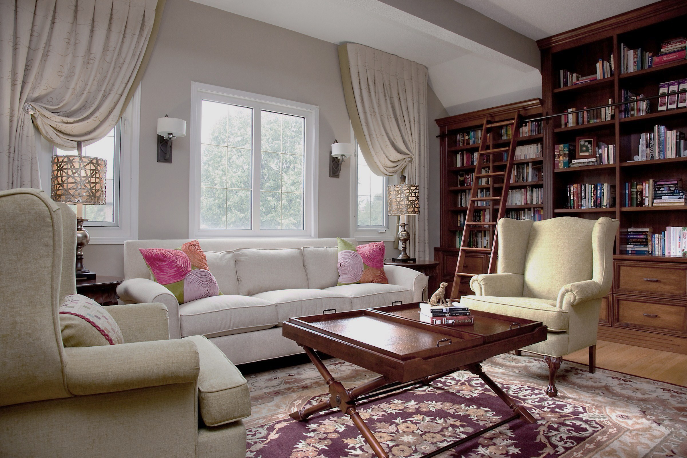 Custom Sunroom Window Treatments