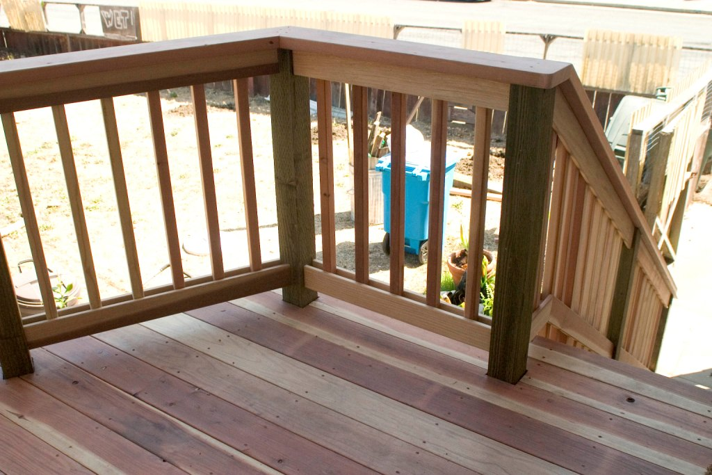 Deck Stair Handrail Cover
