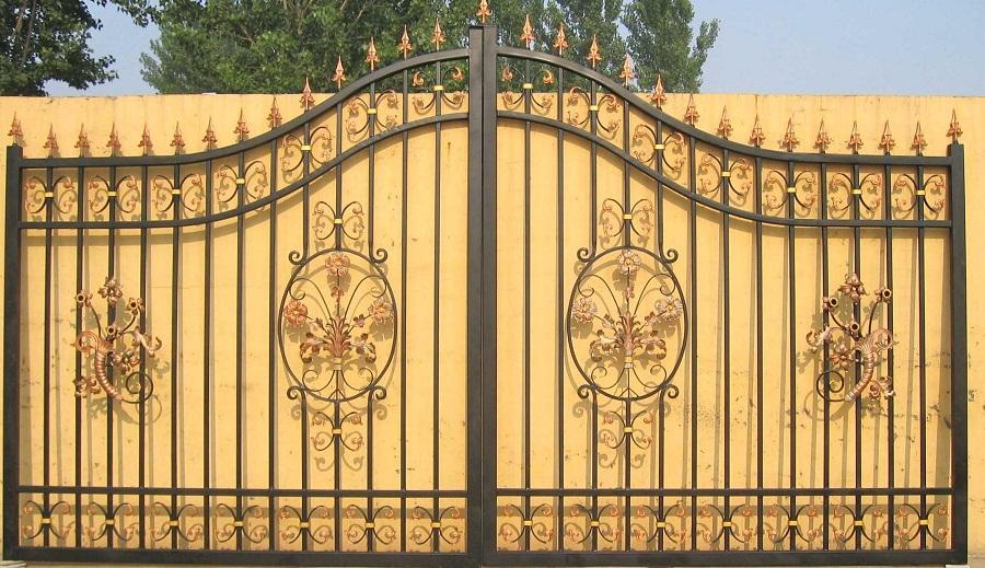 Design Metal Fence Gate