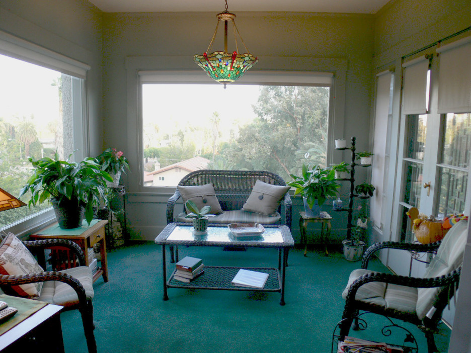 Enclosed Front Porch Ideas Furniture