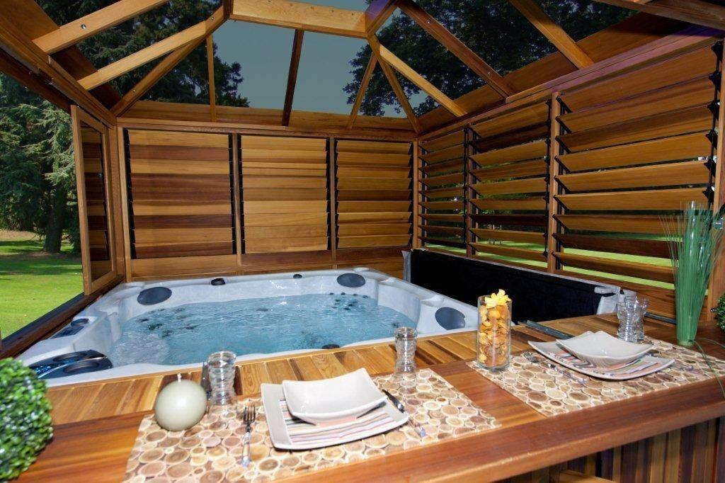 Gazebo For Hot Tub Cool