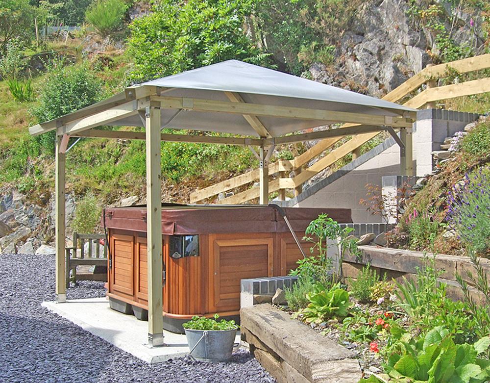 Gazebo For Hot Tub Mountain