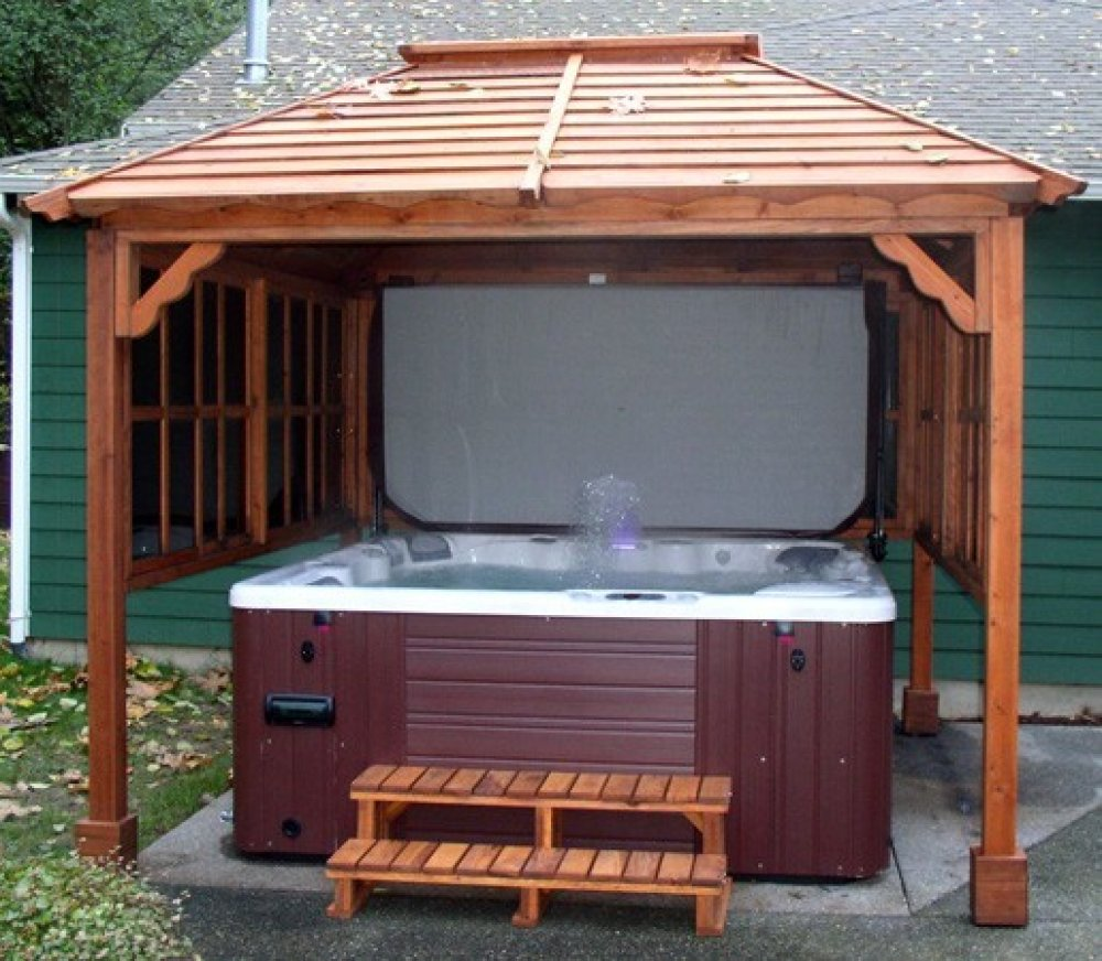 Gazebo For Hot Tub Small