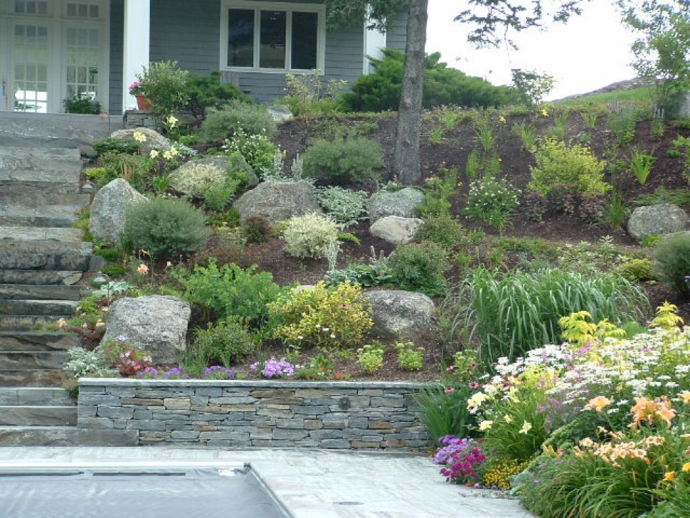 Hillside Landscape Ideas Stairs Rickyhil Outdoor Ideas
