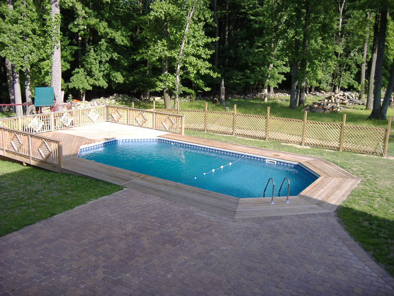 Home Semi Inground Swimming Pools
