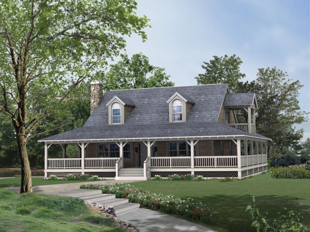 House Plans With Porches Plan