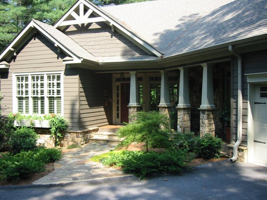 House Plans With Porches And Garages