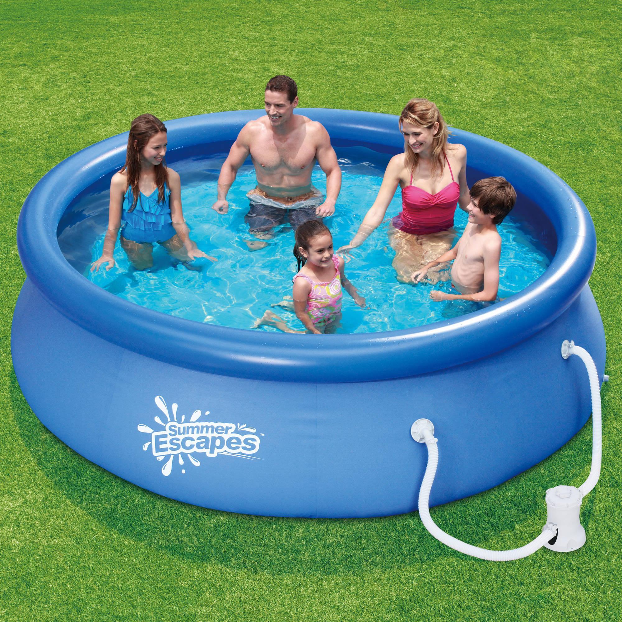 Intex Easy Set Swimming Pools Design : Rickyhil Outdoor Ideas ...