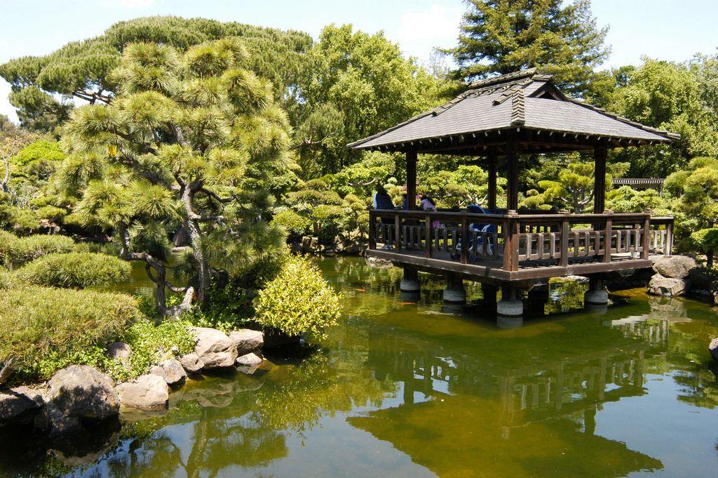 Japanese Tea Garden Gazebo