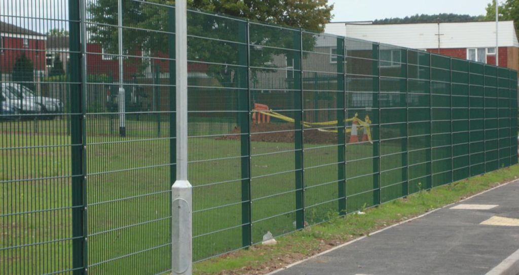 Mesh Fencing Green Color