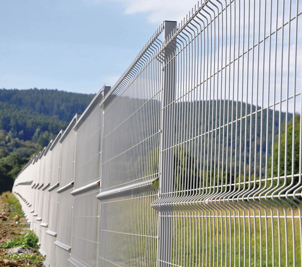 Mesh Fencing In Mountain