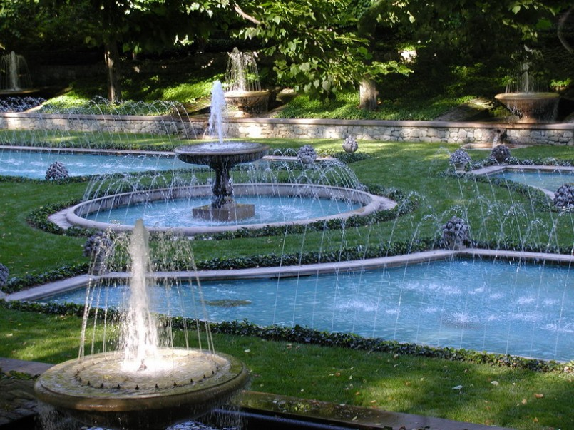 Modern Outdoor Fountain Ideas