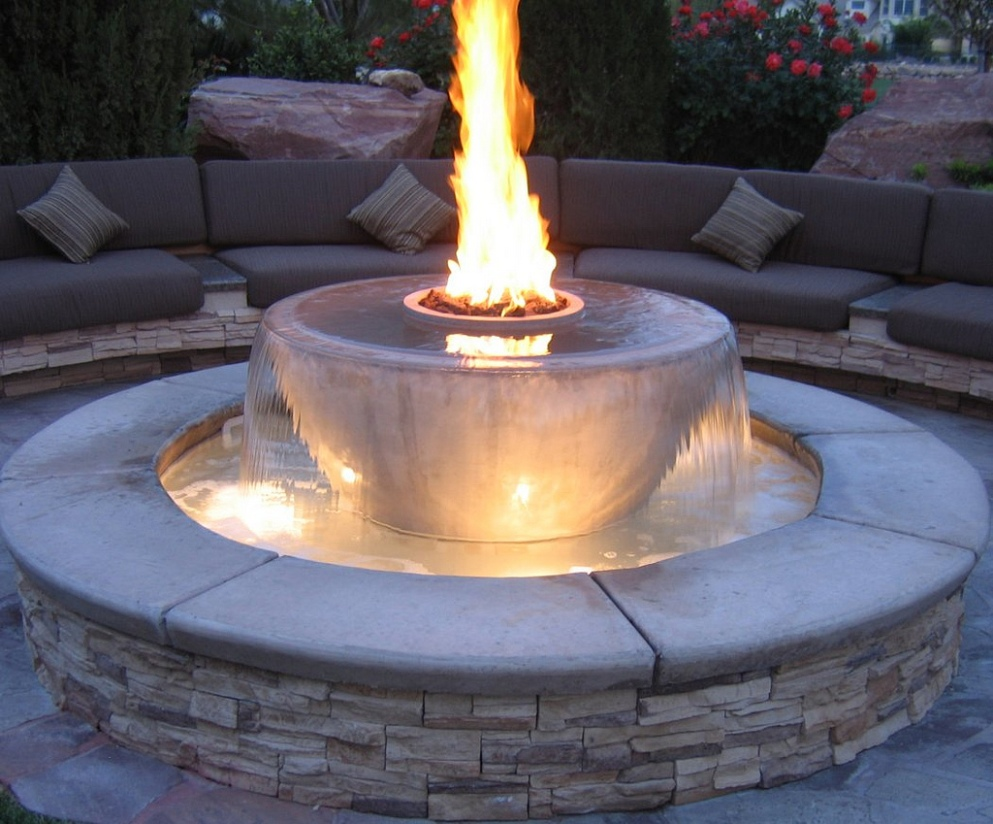 Modern Outdoor Fountains Design Rickyhil Outdoor Ideas