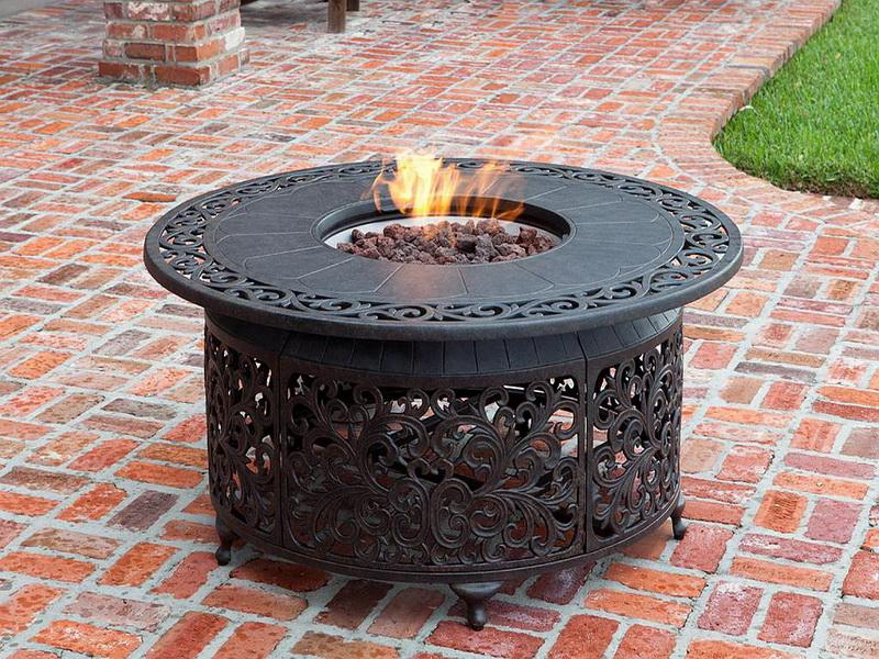 Natural Gas Outdoor Fire Pit Plan
