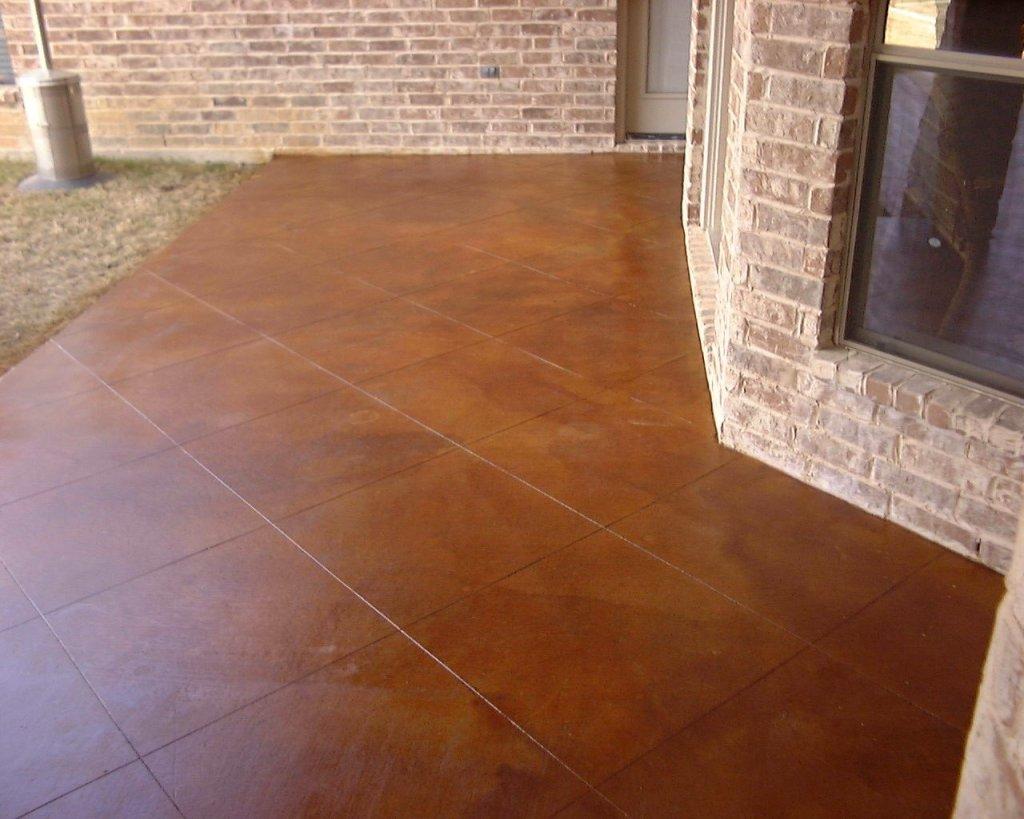 Decorative Staining Concrete Patio Rickyhil Outdoor Ideas