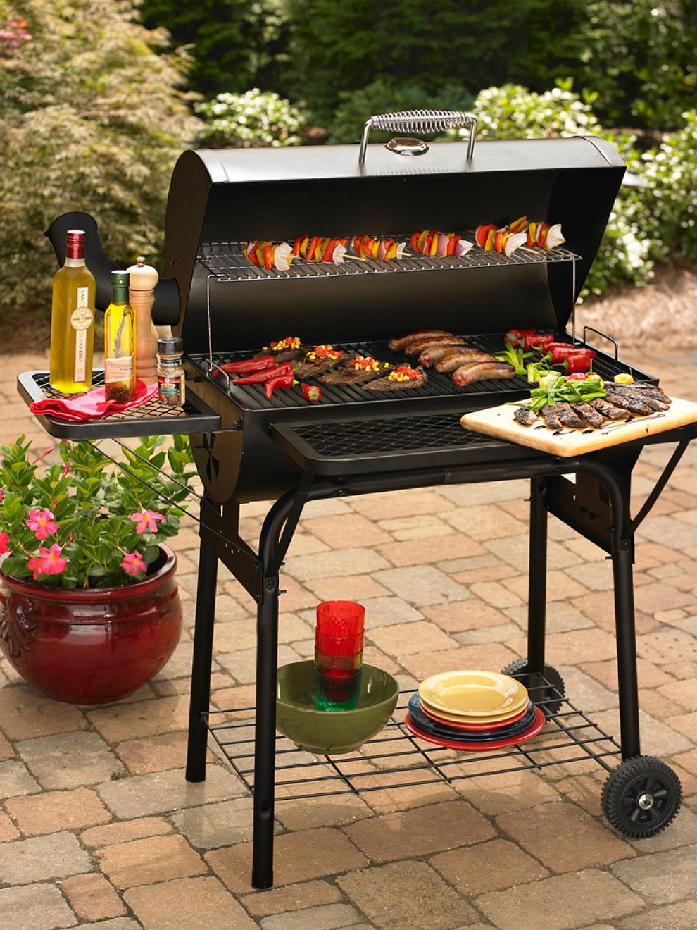 Outdoor Charcoal Grills Size