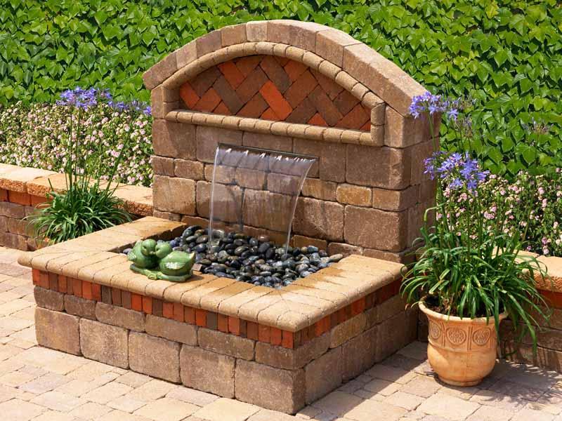 Outdoor Fountain Ideas Decor