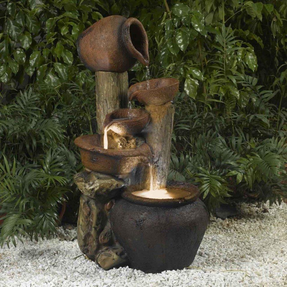 Outdoor Fountain Ideas Garden