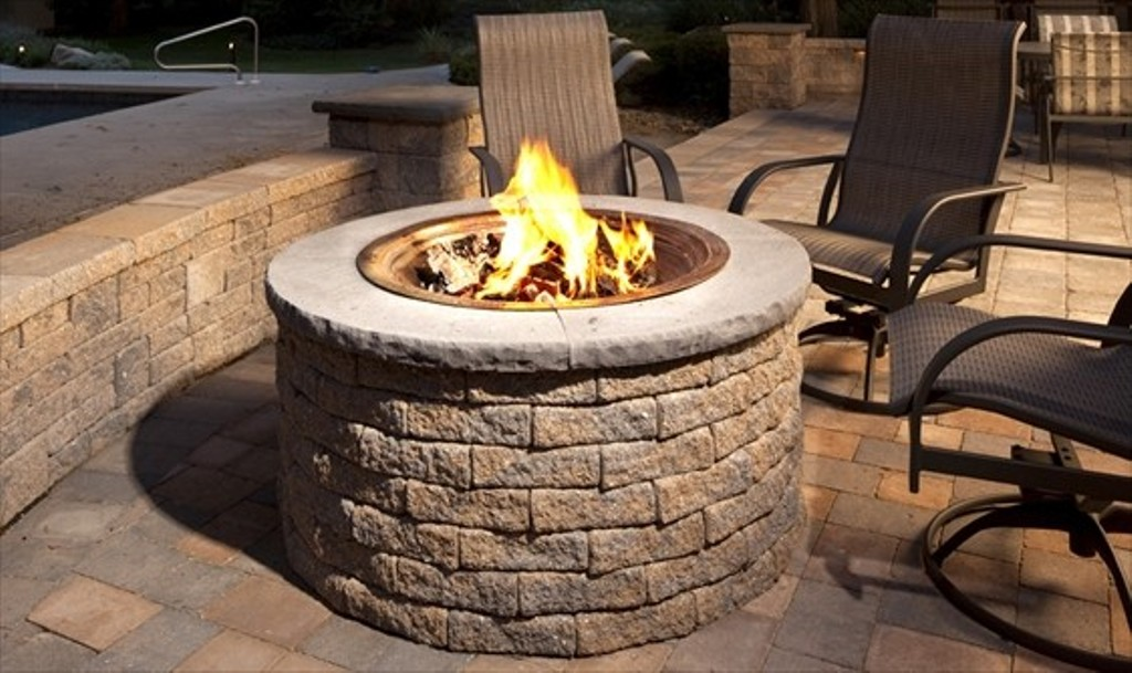 Outdoor Gas Fireplace Kits Home