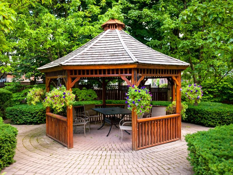 Outdoor Patio Gazebo Garden