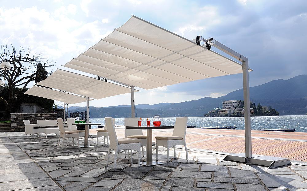 Outdoor Patio Umbrella White