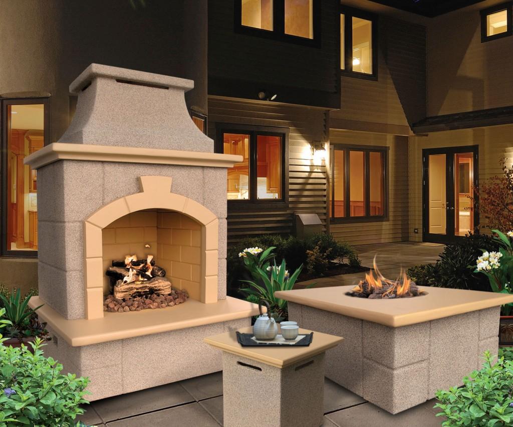 Patio Propane Outdoor Fireplace