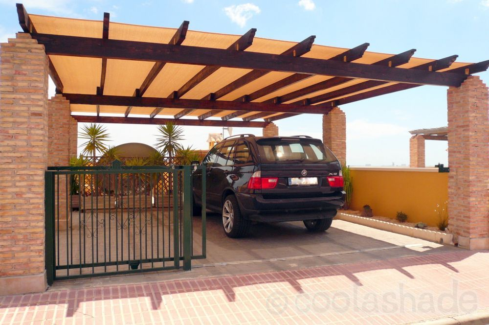 Pergola Shade Cloth Decoration