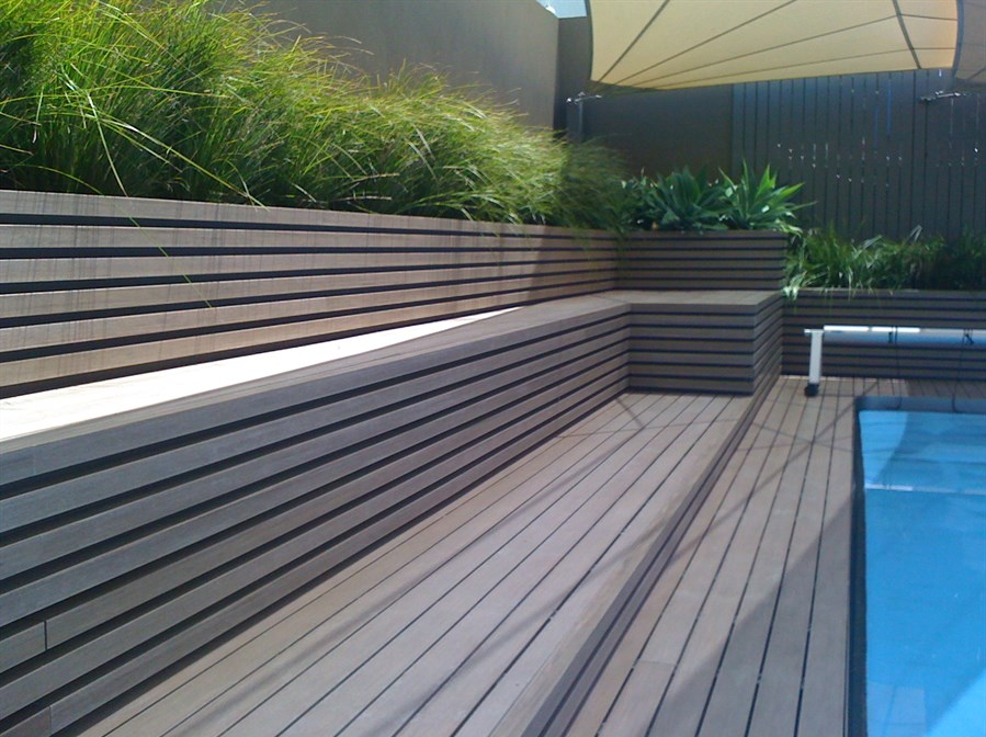 Plastic Decking Picture