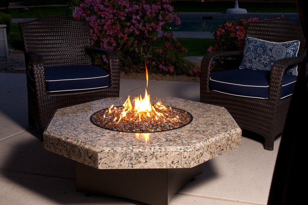 Propane Outdoor Fireplace Designs