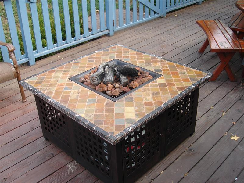 Propane Outdoor Fireplace Style