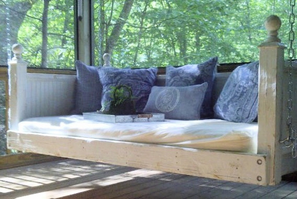 Shabby Chic Porch Bed Swing