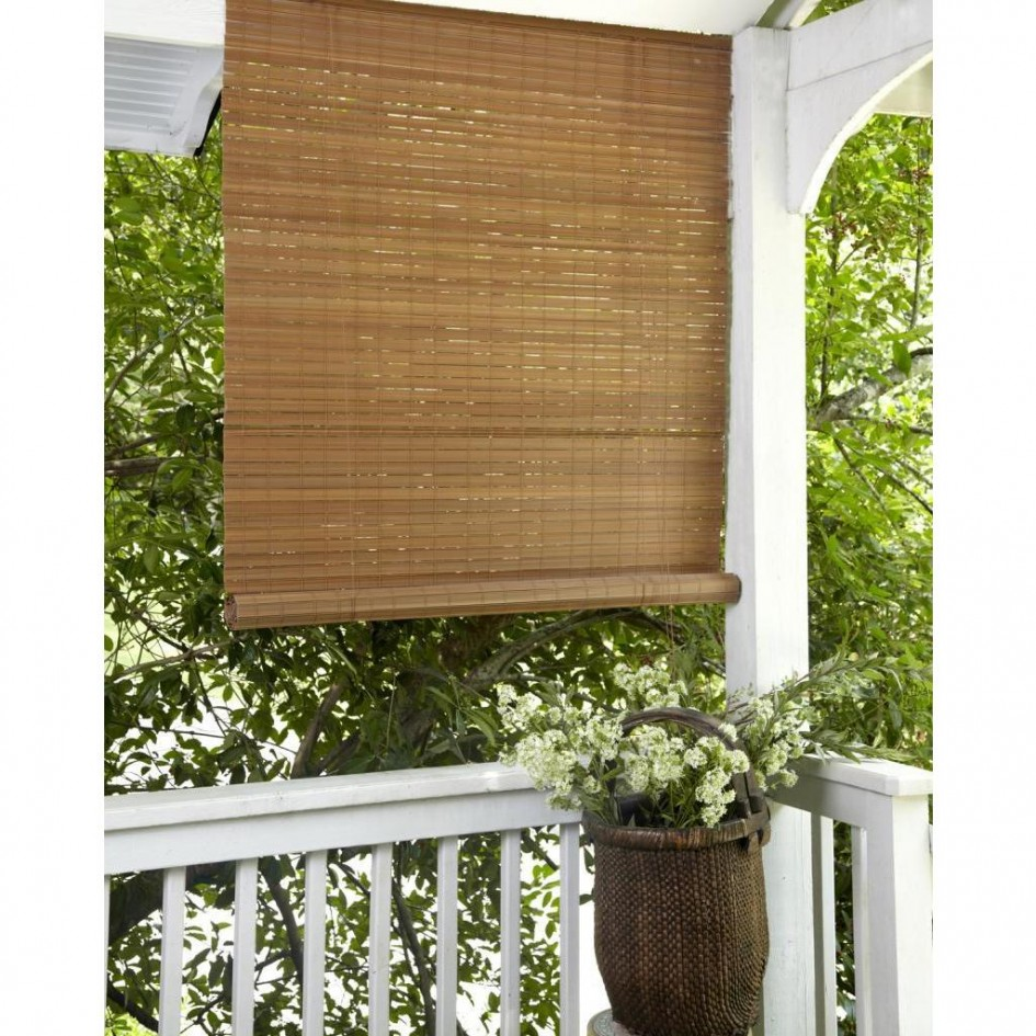 Fascinating Bamboo Porch Shades Rickyhil Outdoor Ideas