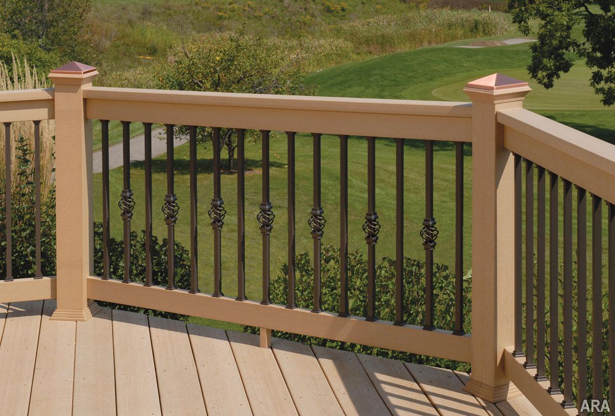 Simple Deck Railing Posts