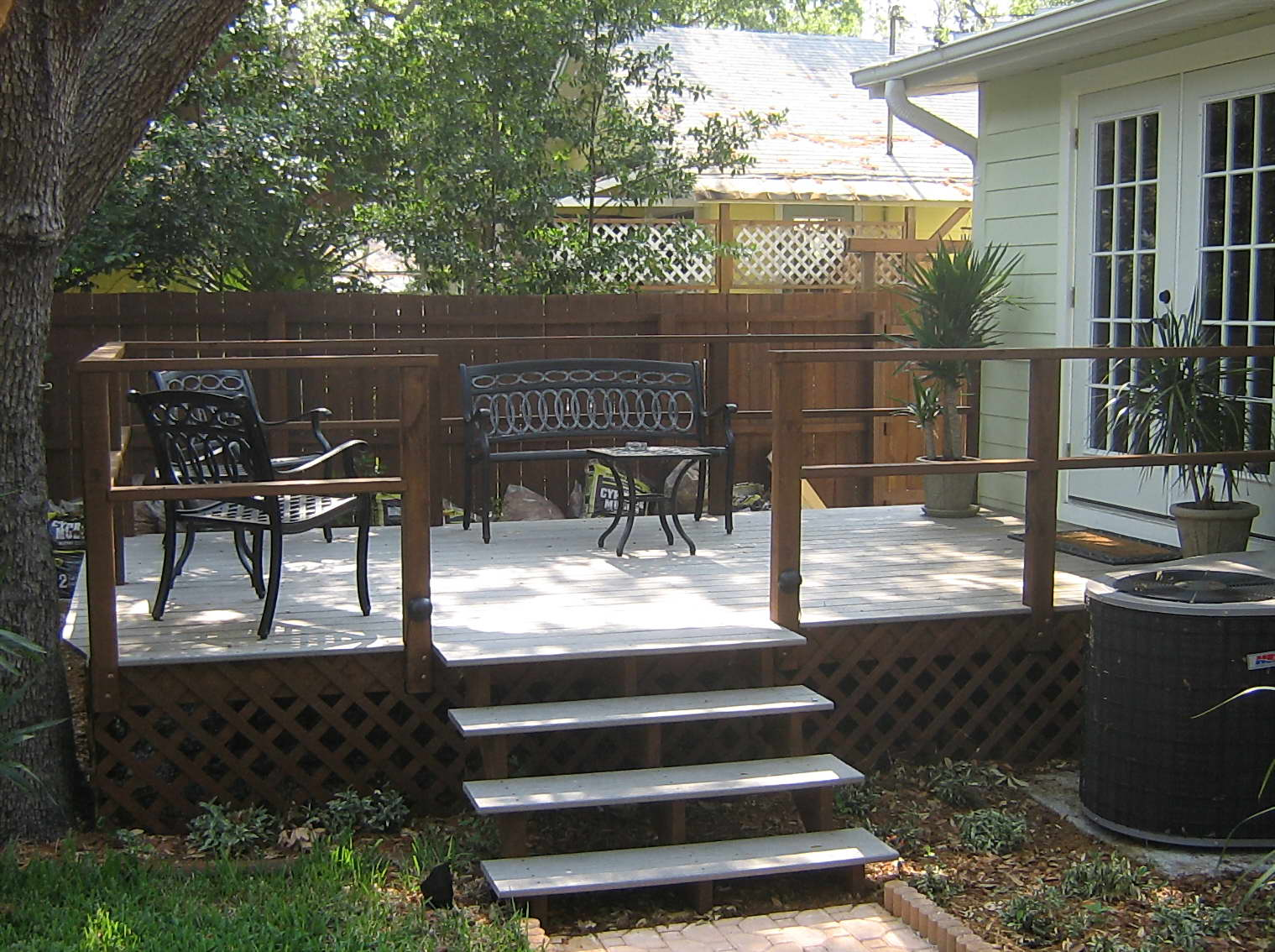 Simple Designs Deck Stair Handrail Rickyhil Outdoor Ideas