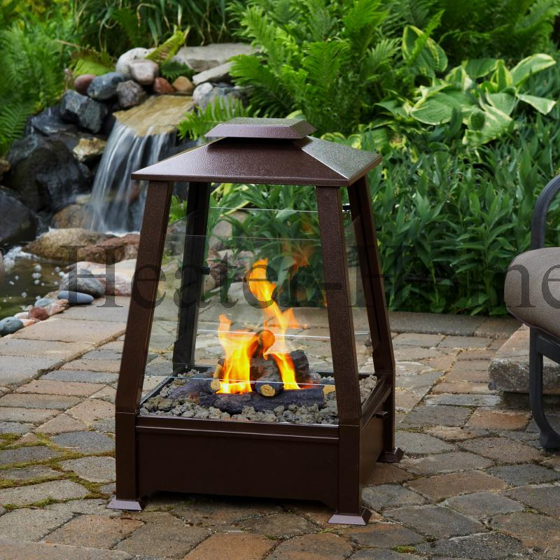Small Propane Outdoor Fireplace