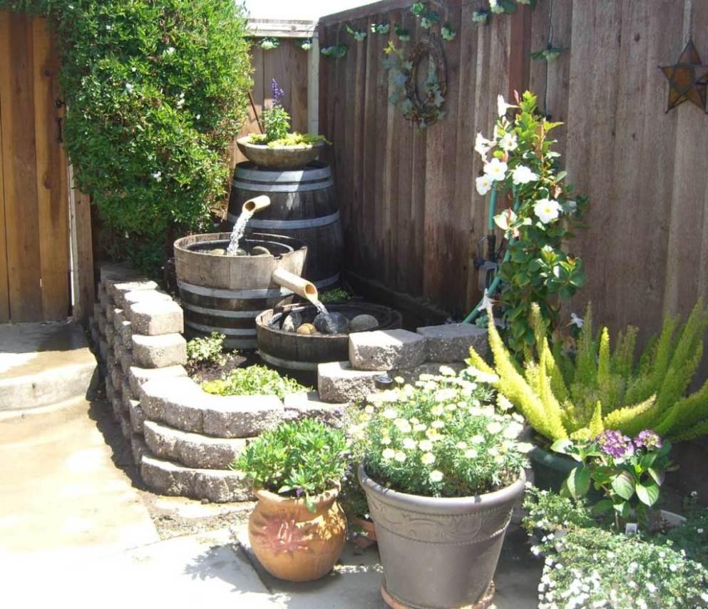 Solar Outdoor Fountain Ideas