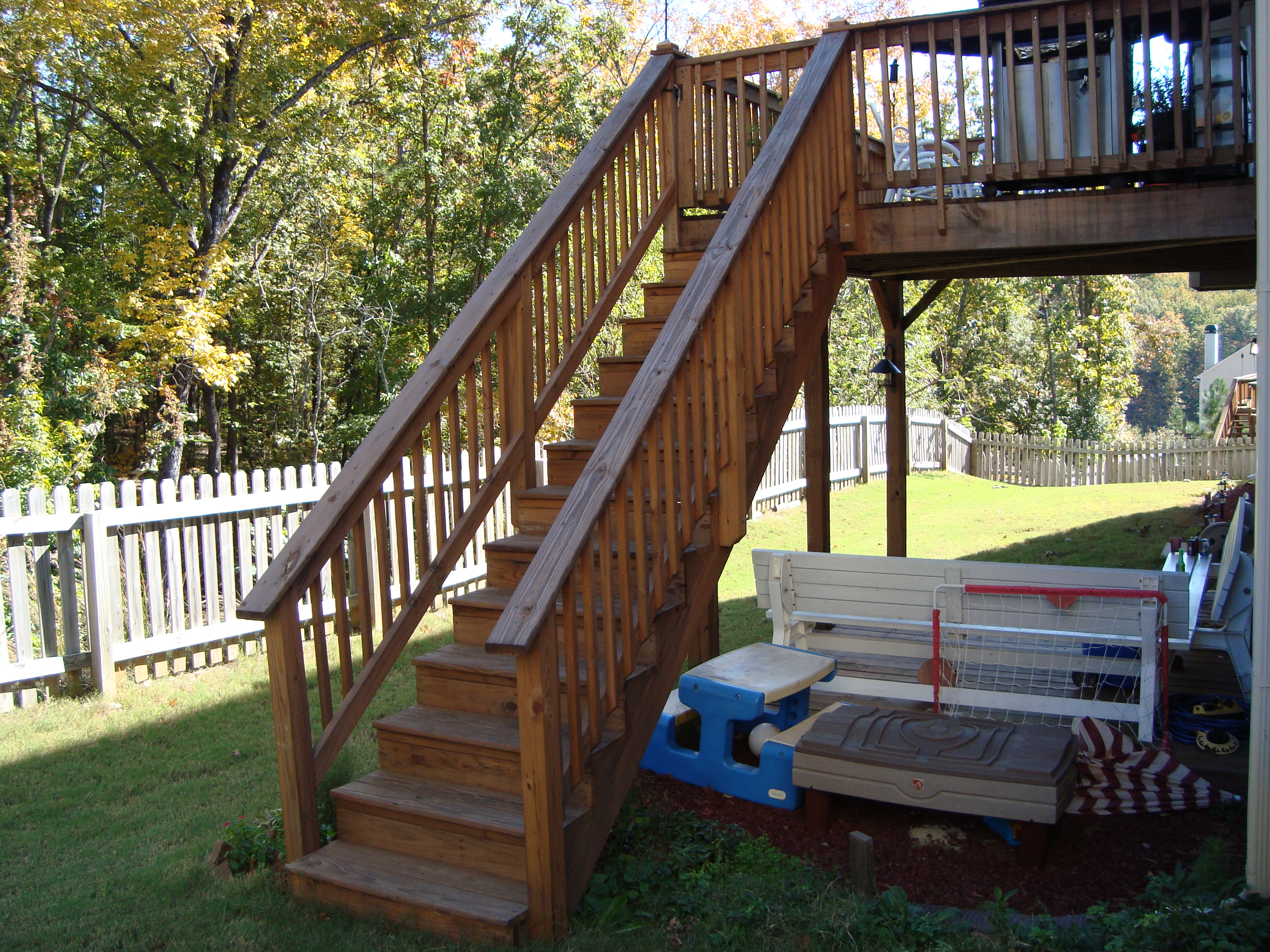 Springer Deck Stair Handrail
