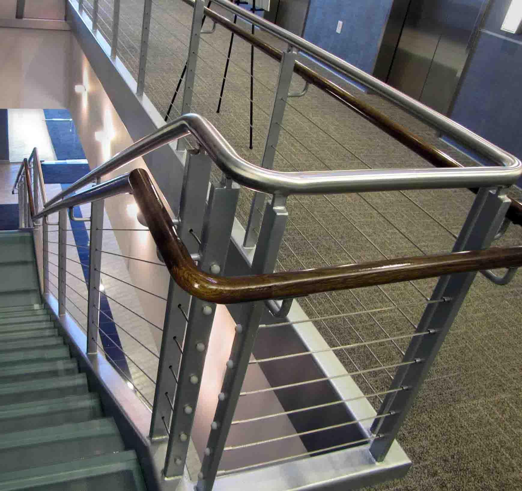 Stainless Steel Deck Stair Handrail
