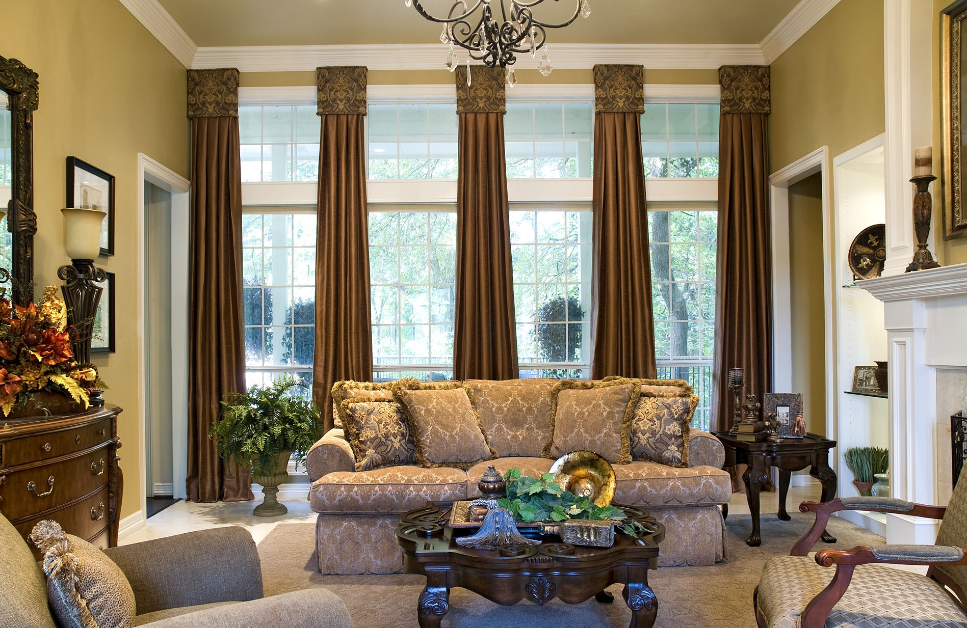 Sunroom Window Treatments Interior