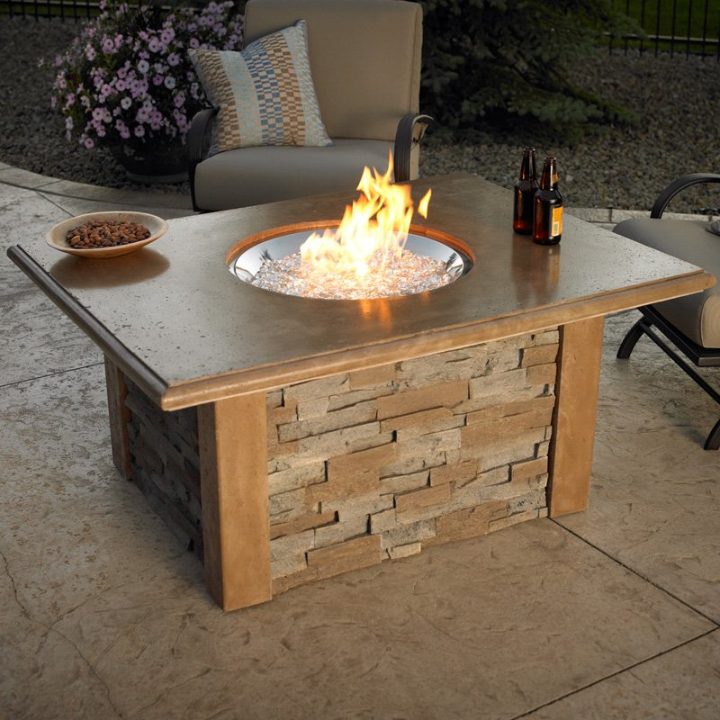 Table Propane Outdoor Fireplace