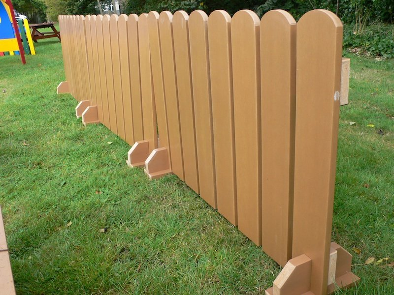 Temporary Fence Panels Wood