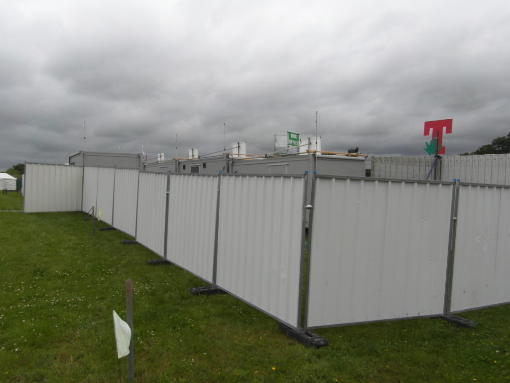 Temporary Fence Panels For Factory