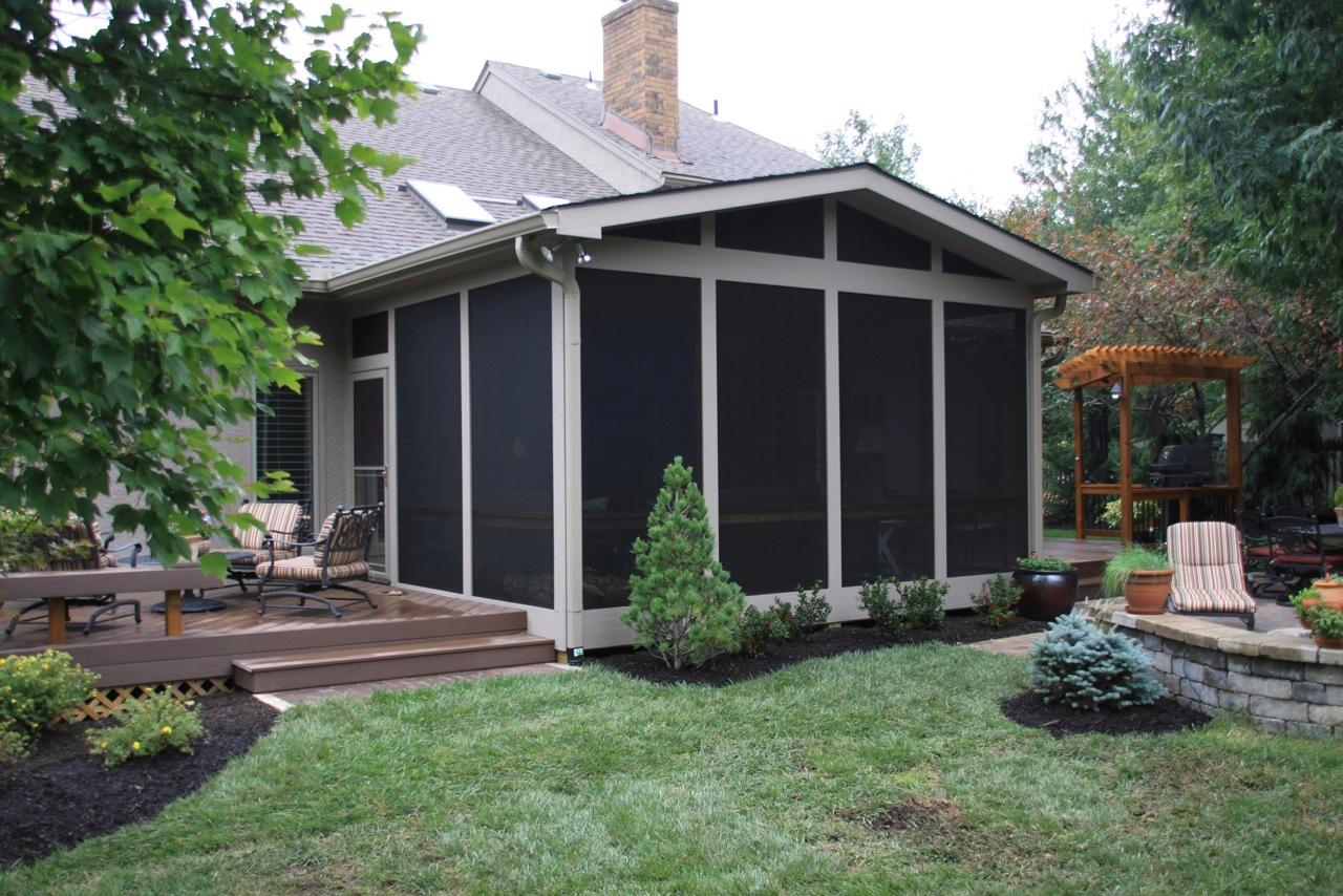 Awesome Diy Screened In Porch