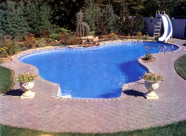Backyard Inground Swimming Pool