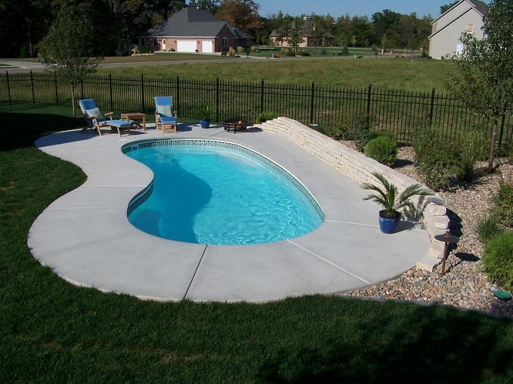 Elegant Small Inground Swimming Pools : Rickyhil Outdoor Ideas ...