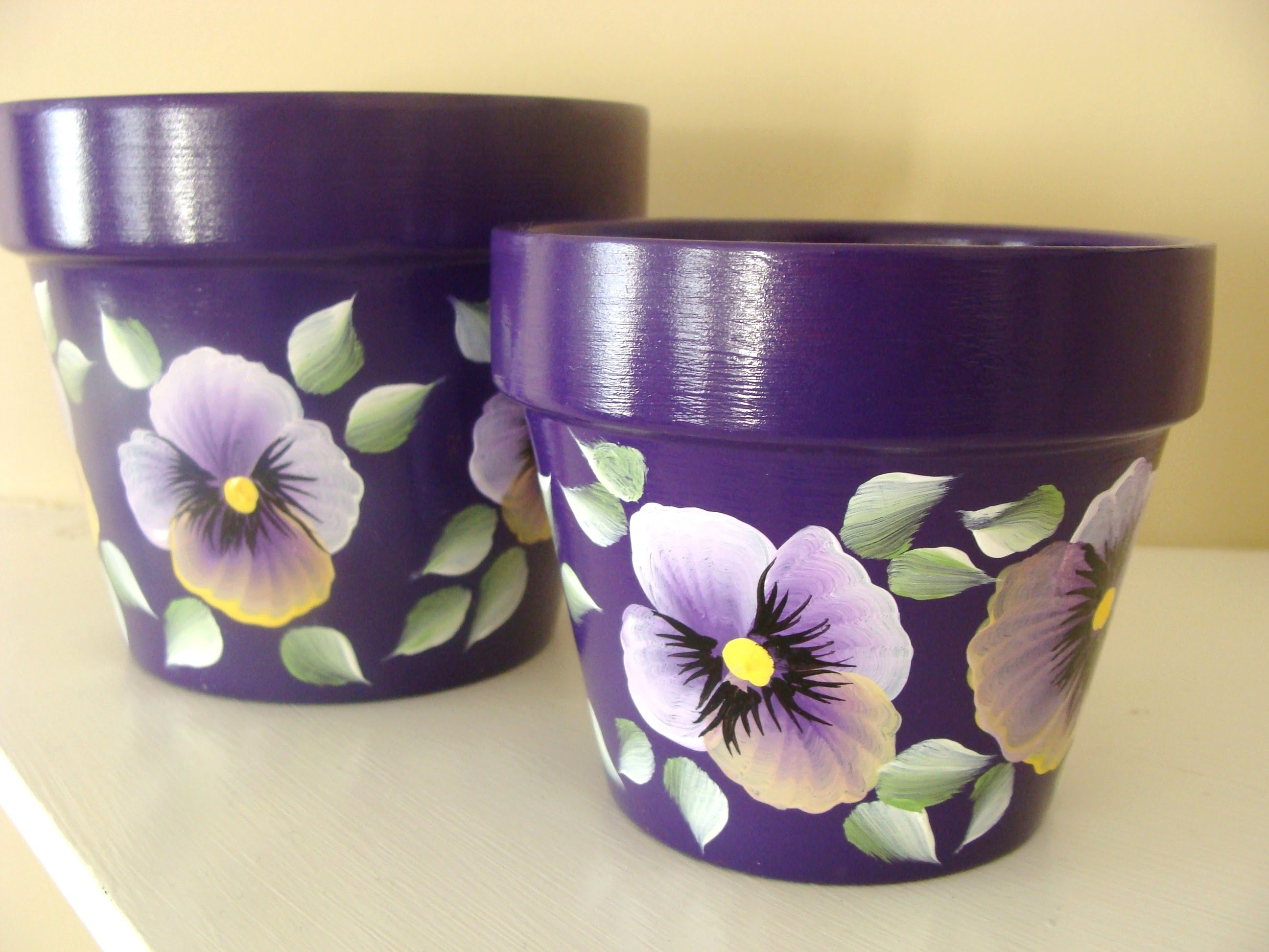 Fabulous Flower Pot Painting Ideas