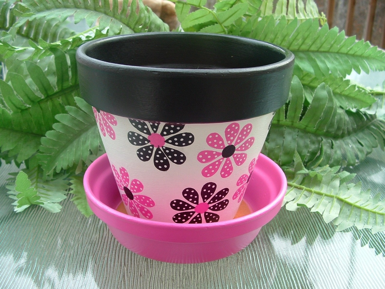 Famous Flower Pot Painting Ideas