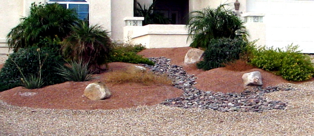 Front Yard Desert Landscape Ideas Rickyhil Outdoor Ideas
