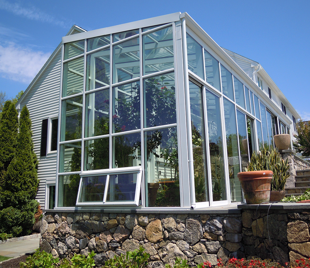 Glass House Plans With Sunrooms