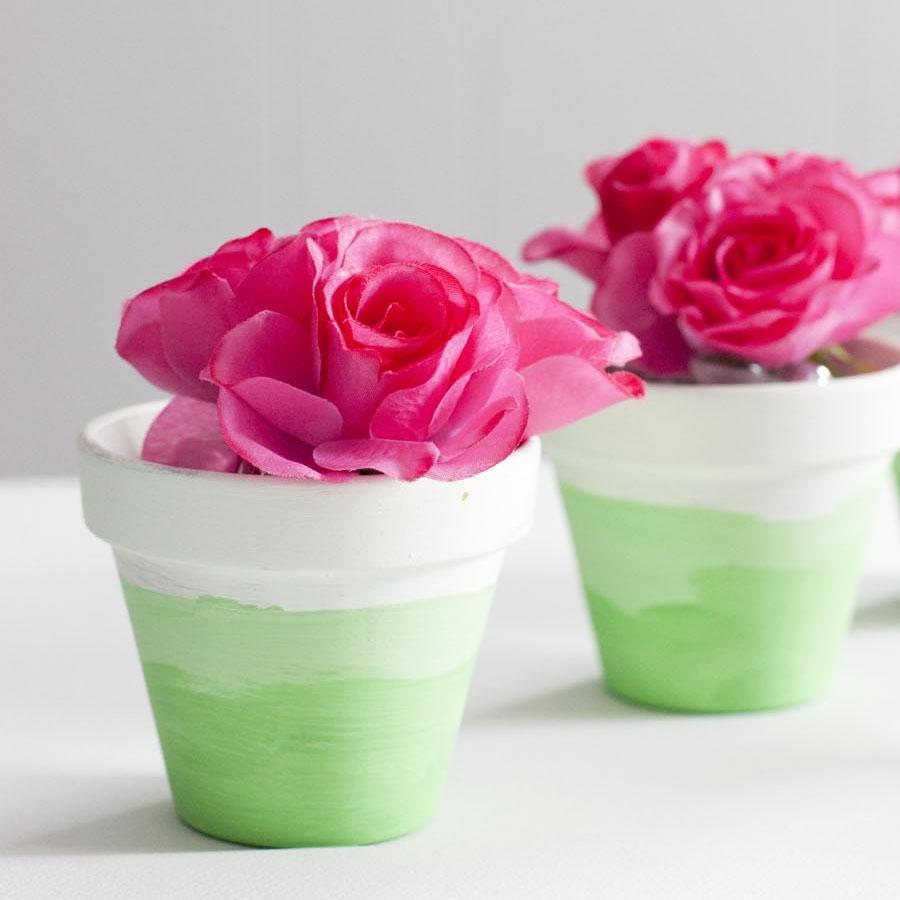 Premium Flower Pot Painting Ideas